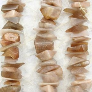 Shop Sunstone Chip & Nugget Beads! African sunstone chips beads 6.5-12mm (ETB01353) Unique jewelry/Vintage jewelry/Gemstone necklace | Natural genuine chip Sunstone beads for beading and jewelry making.  #jewelry #beads #beadedjewelry #diyjewelry #jewelrymaking #beadstore #beading #affiliate #ad