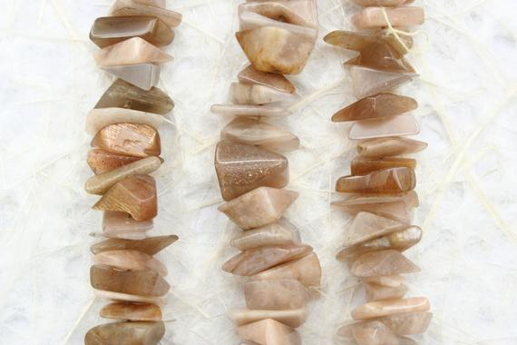 African Sunstone Chips Beads 6.5-12mm (etb01353) Unique Jewelry/vintage Jewelry/gemstone Necklace