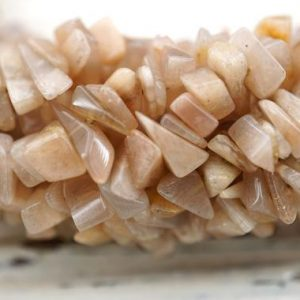 Shop Sunstone Chip & Nugget Beads! African sunstone small chips beads 4-7.5mm (ETB01352) Unique jewelry/Vintage jewelry/Gemstone necklace | Natural genuine chip Sunstone beads for beading and jewelry making.  #jewelry #beads #beadedjewelry #diyjewelry #jewelrymaking #beadstore #beading #affiliate #ad