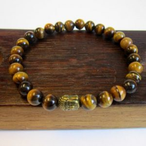 Tiger Eye Bracelet Men Third Eye Chakra Tiger Eye Bracelet Protection Tiger Eye Bracelet Men's Luck Bracelet Men's Health Bracelet Tiger Eye | Natural genuine Gemstone bracelets. Buy crystal jewelry, handmade handcrafted artisan jewelry for women.  Unique handmade gift ideas. #jewelry #beadedbracelets #beadedjewelry #gift #shopping #handmadejewelry #fashion #style #product #bracelets #affiliate #ad