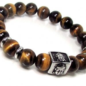 Shop Tiger Eye Bracelets! Tiger Eye Mens Bracelet with 316L Stainless Steel,Tiger Eye Bracelet,Buddha Bracelet,Mens Beaded Bracelet,Mens Gemstone Bracelet + Gift Box | Natural genuine Tiger Eye bracelets. Buy handcrafted artisan men's jewelry, gifts for men.  Unique handmade mens fashion accessories. #jewelry #beadedbracelets #beadedjewelry #shopping #gift #handmadejewelry #bracelets #affiliate #ad