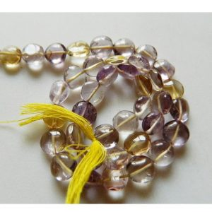 Shop Ametrine Bead Shapes! 8mm Ametrine Coin Beads, Faceted Ametrine Coin Beads, 13 Inch Strand | Natural genuine other-shape Ametrine beads for beading and jewelry making.  #jewelry #beads #beadedjewelry #diyjewelry #jewelrymaking #beadstore #beading #affiliate #ad