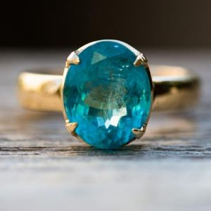 Shop Apatite Rings! Blue Apatite 14k Yellow Gold Ring Size 7 ring – Gorgeous Blue Apatite Ring Size 7 Blue Apatite Yellow Gold Blue Apatite ring size 7 Apatite | Natural genuine Apatite rings, simple unique handcrafted gemstone rings. #rings #jewelry #shopping #gift #handmade #fashion #style #affiliate #ad