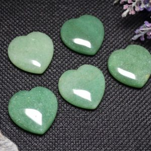 Shop Aventurine Shapes! Customized Hand Carved Green Aventurine Polished Heart Shaped / Natural Green Aventurine Stone / worry Stone / decoration / special Gift-30mm | Natural genuine stones & crystals in various shapes & sizes. Buy raw cut, tumbled, or polished gemstones for making jewelry or crystal healing energy vibration raising reiki stones. #crystals #gemstones #crystalhealing #crystalsandgemstones #energyhealing #affiliate #ad