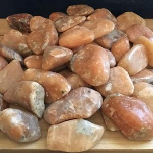 Shop Tumbled Calcite Crystals & Pocket Stones! Orange Calcite Tumbled Stone, Healing Stone, Healing Crystal, Chakra Stones, Spiritual Stone | Natural genuine stones & crystals in various shapes & sizes. Buy raw cut, tumbled, or polished gemstones for making jewelry or crystal healing energy vibration raising reiki stones. #crystals #gemstones #crystalhealing #crystalsandgemstones #energyhealing #affiliate #ad