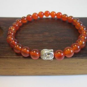 Shop Carnelian Bracelets! Men's Carnelian Bracelet, Men's Sacral Chakra Bracelet, Energy Bracelet, Men Carnelian Bracelet, Health Chakra Bracelet, Carnelian Power | Natural genuine Carnelian bracelets. Buy crystal jewelry, handmade handcrafted artisan jewelry for women.  Unique handmade gift ideas. #jewelry #beadedbracelets #beadedjewelry #gift #shopping #handmadejewelry #fashion #style #product #bracelets #affiliate #ad