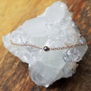 Shop Diamond Bracelets! Black Diamond Anklet Rose Gold Anklet Womens Ankle Bracelet Rose Gold Anklets Gift for Women Black Diamond Ankle Bracelet 14K Gold Anklet | Natural genuine Diamond bracelets. Buy crystal jewelry, handmade handcrafted artisan jewelry for women.  Unique handmade gift ideas. #jewelry #beadedbracelets #beadedjewelry #gift #shopping #handmadejewelry #fashion #style #product #bracelets #affiliate #ad
