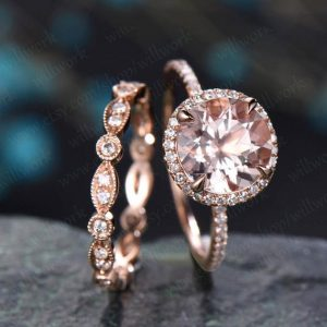 1pc Art deco diamond ring for women rose gold vintage full eternity diamond wedding band diamond jewelry bridal anniversary stacking ring | Natural genuine Gemstone rings, simple unique alternative gemstone engagement rings. #rings #jewelry #bridal #wedding #jewelryaccessories #engagementrings #weddingideas #affiliate #ad