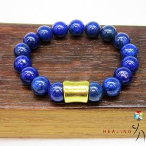 Men Lapis Lazuli Bracelet, Men Third Eye Chakra Bracelet, Men Protection Bracelet Men Lapis Lazuli Bracelet Lapis Lazuli Men Buddha Bracelet | Natural genuine Gemstone bracelets. Buy crystal jewelry, handmade handcrafted artisan jewelry for women.  Unique handmade gift ideas. #jewelry #beadedbracelets #beadedjewelry #gift #shopping #handmadejewelry #fashion #style #product #bracelets #affiliate #ad