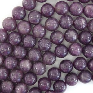 "Shop Lepidolite Beads! Purple Lepidolite Round Beads Gemstone 15.5"" Strand 4mm 6mm 8mm 10mm 12mm 