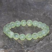 Green Prehnite Bracelet Handmade 9mm Prehnite Beaded Gemstone Bracelet Prehnite Natural Inclusions Green Bracelet Stacking Gift Bracelet | Natural genuine Gemstone jewelry. Buy crystal jewelry, handmade handcrafted artisan jewelry for women.  Unique handmade gift ideas. #jewelry #beadedjewelry #beadedjewelry #gift #shopping #handmadejewelry #fashion #style #product #jewelry #affiliate #ad