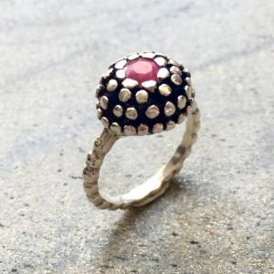 Vintage Ruby Ring, Natural Ruby Ring, Antique Ruby Ring, Vintage Rings, Silver Ruby Ring, Game of Thrones Ring, Solid Silver Ring | Natural genuine Array jewelry. Buy crystal jewelry, handmade handcrafted artisan jewelry for women.  Unique handmade gift ideas. #jewelry #beadedjewelry #beadedjewelry #gift #shopping #handmadejewelry #fashion #style #product #jewelry #affiliate #ad