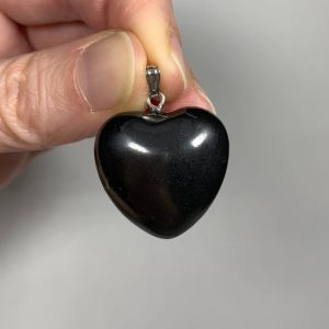 Shop Shungite Shapes! 1 SHUNGITE PENDANT – Heart Shaped – Natural Crystal – Stone Jewelry – Gift – Healing Crystal – Meditation Stone – From Russia | Natural genuine stones & crystals in various shapes & sizes. Buy raw cut, tumbled, or polished gemstones for making jewelry or crystal healing energy vibration raising reiki stones. #crystals #gemstones #crystalhealing #crystalsandgemstones #energyhealing #affiliate #ad