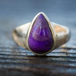 Shop Sugilite Rings! Sugilite Ring 10 – Sugilite Sterling Silver Ring – Suglite Ring – Sugilite Ring – Ring Size 10 – Sterling Silver Sugilite Ring Size 10 | Natural genuine Sugilite rings, simple unique handcrafted gemstone rings. #rings #jewelry #shopping #gift #handmade #fashion #style #affiliate #ad