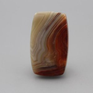 Laguna Lace Agate Cabochon | Natural genuine stones & crystals in various shapes & sizes. Buy raw cut, tumbled, or polished gemstones for making jewelry or crystal healing energy vibration raising reiki stones. #crystals #gemstones #crystalhealing #crystalsandgemstones #energyhealing #affiliate #ad
