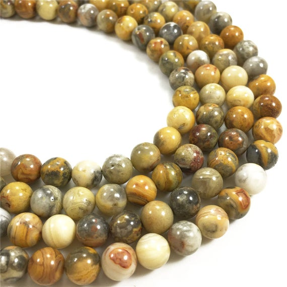 8mm Crazy Lace Agate Beads, Round Beads,gemstone Beads,wholesale Beads