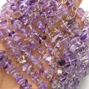 Shop Amethyst Chip & Nugget Beads! 5-8mm Amethyst Chip Beads, Chip Gemstone, Wholesale Beads | Natural genuine chip Amethyst beads for beading and jewelry making.  #jewelry #beads #beadedjewelry #diyjewelry #jewelrymaking #beadstore #beading #affiliate #ad