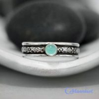 Sterling Silver Mens Aquamarine Ring – March Birthstone Ring – Promise Ring For Him | Moonkist Designs | Natural genuine Gemstone jewelry. Buy handcrafted artisan men's jewelry, gifts for men.  Unique handmade mens fashion accessories. #jewelry #beadedjewelry #beadedjewelry #shopping #gift #handmadejewelry #jewelry #affiliate #ad