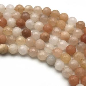 Shop Aventurine Faceted Beads! 8mm Faceted Pink Aventurine Beads, Round Gemstone Beads, Wholesale Beads | Natural genuine faceted Aventurine beads for beading and jewelry making.  #jewelry #beads #beadedjewelry #diyjewelry #jewelrymaking #beadstore #beading #affiliate #ad