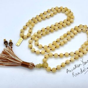 Shop Calcite Necklaces! 8 mm AAA Grade Yellow Calcite Mala Beads Necklace, Calcite Jewelry, Calcite Wrap Mala, Calcite knotted mala beads,Christmas | Natural genuine Calcite necklaces. Buy crystal jewelry, handmade handcrafted artisan jewelry for women.  Unique handmade gift ideas. #jewelry #beadednecklaces #beadedjewelry #gift #shopping #handmadejewelry #fashion #style #product #necklaces #affiliate #ad