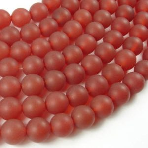 Shop Carnelian Round Beads! Matte Carnelian Beads, 10mm(10.5mm) Round Beads, 15.5 Inch, Full strand, Approx 38 beads, Hole 1 mm, A quality (182054027) | Natural genuine round Carnelian beads for beading and jewelry making.  #jewelry #beads #beadedjewelry #diyjewelry #jewelrymaking #beadstore #beading #affiliate #ad