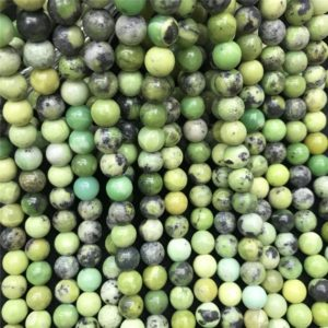 Shop Chrysoprase Round Beads! 10mm Chrysoprase Beads, Round Gemstone Beads, Wholesale Beads | Natural genuine round Chrysoprase beads for beading and jewelry making.  #jewelry #beads #beadedjewelry #diyjewelry #jewelrymaking #beadstore #beading #affiliate #ad