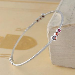 Shop Garnet Bracelets! Garnet Bangle, Silver Bangle, Silver Gemstone Bangle, Single Bracelet, 925 Sterling Silver Bangle, Red Stone Bracelet, January Birthstone | Natural genuine Garnet bracelets. Buy crystal jewelry, handmade handcrafted artisan jewelry for women.  Unique handmade gift ideas. #jewelry #beadedbracelets #beadedjewelry #gift #shopping #handmadejewelry #fashion #style #product #bracelets #affiliate #ad