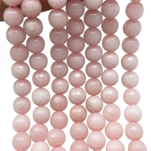 Shop Jade Faceted Beads! 10mm Faceted Pink Jade Beads, Gemstone Beads, Wholesale Beads | Natural genuine faceted Jade beads for beading and jewelry making.  #jewelry #beads #beadedjewelry #diyjewelry #jewelrymaking #beadstore #beading #affiliate #ad