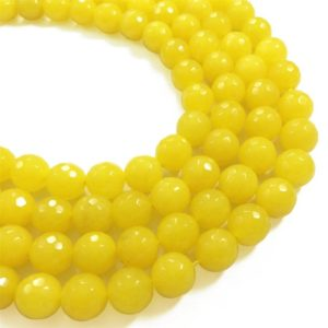 Shop Jade Faceted Beads! 10mm Faceted Yellow Jade Beads, Gemstone Beads, Wholesale Beads | Natural genuine faceted Jade beads for beading and jewelry making.  #jewelry #beads #beadedjewelry #diyjewelry #jewelrymaking #beadstore #beading #affiliate #ad