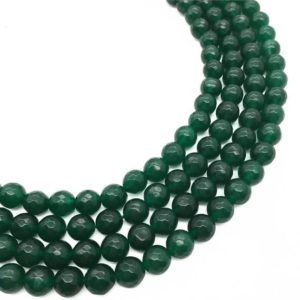 Shop Green Jade Beads! 8mm Faceted Green Jade Beads, Gemstone Beads, Wholesale Beads | Natural genuine beads Jade beads for beading and jewelry making.  #jewelry #beads #beadedjewelry #diyjewelry #jewelrymaking #beadstore #beading #affiliate #ad
