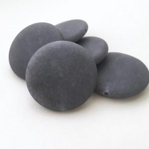 Shop Jade Beads! SALE Gray Jade, 35mm, Matte Beads, Frosted Beads, Gray Beads, Loose Gemstones, Gray Gemstone Coin Beads Gemstone Beads Matte Jade, Big Beads | Natural genuine beads Jade beads for beading and jewelry making.  #jewelry #beads #beadedjewelry #diyjewelry #jewelrymaking #beadstore #beading #affiliate #ad