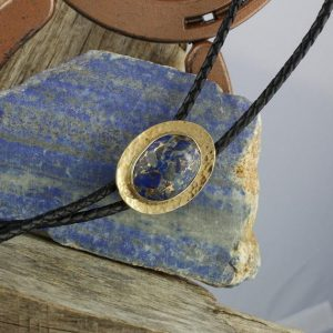 Shop Lapis Lazuli Necklaces! Lapis Lazuli & Bronze Bolo Tie – Western Bolo Tie -Cowboy Bolo Tie Necklace – Brass and Sterling Silver Bolo Tie | Natural genuine Lapis Lazuli necklaces. Buy crystal jewelry, handmade handcrafted artisan jewelry for women.  Unique handmade gift ideas. #jewelry #beadednecklaces #beadedjewelry #gift #shopping #handmadejewelry #fashion #style #product #necklaces #affiliate #ad
