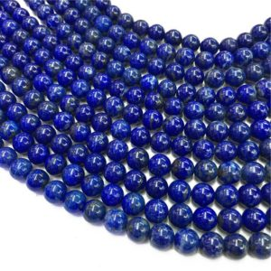Shop Lapis Lazuli Round Beads! 10mm Lapis Lazuli Beads, Round Gemstone Beads, Wholesale Beads | Natural genuine round Lapis Lazuli beads for beading and jewelry making.  #jewelry #beads #beadedjewelry #diyjewelry #jewelrymaking #beadstore #beading #affiliate #ad