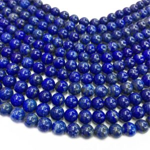 Shop Lapis Lazuli Round Beads! 8mm Natural Lapis Lazuli Beads, Round Gemstone Beads, Wholesale Beads   Natural genuine round Lapis Lazuli beads for beading and jewelry making.  #jewelry #beads #beadedjewelry #diyjewelry #jewelrymaking #beadstore #beading #affiliate #ad