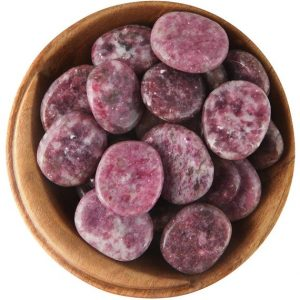 1 Lepidolite (china) – Tumbled Stone – Ethically Sourced Tumbled Stone | Natural genuine stones & crystals in various shapes & sizes. Buy raw cut, tumbled, or polished gemstones for making jewelry or crystal healing energy vibration raising reiki stones. #crystals #gemstones #crystalhealing #crystalsandgemstones #energyhealing #affiliate #ad