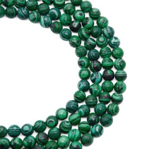 Shop Malachite Faceted Beads! 8mm Faceted Green Malachite Beads, Gemstone Beads, Wholesale Beads | Natural genuine faceted Malachite beads for beading and jewelry making.  #jewelry #beads #beadedjewelry #diyjewelry #jewelrymaking #beadstore #beading #affiliate #ad