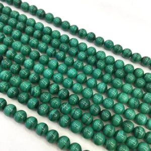 Shop Malachite Beads! 6mm Natural Malachite Beads, round Gemstone Beads, wholesale Beads | Natural genuine beads Malachite beads for beading and jewelry making.  #jewelry #beads #beadedjewelry #diyjewelry #jewelrymaking #beadstore #beading #affiliate #ad