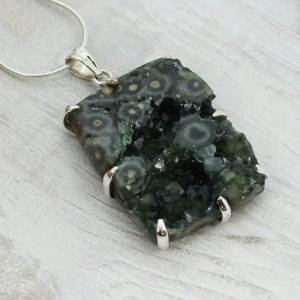 Shop Ocean Jasper Pendants! Amazing natural in the rough dark Ocean Jasper pendant set on quality sterling silver Unisex pendant for men freeform shape Ocean jasper | Natural genuine Ocean Jasper pendants. Buy handcrafted artisan men's jewelry, gifts for men.  Unique handmade mens fashion accessories. #jewelry #beadedpendants #beadedjewelry #shopping #gift #handmadejewelry #pendants #affiliate #ad