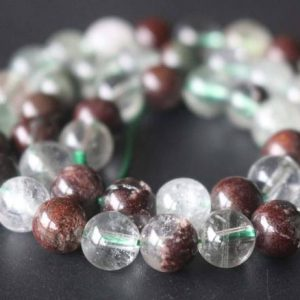 Shop Quartz Crystal Round Beads! Natural Garden Quartz Smooth and Round Beads,8mm Quartz Beads Bulk Suppply,15 inches one starand | Natural genuine round Quartz beads for beading and jewelry making.  #jewelry #beads #beadedjewelry #diyjewelry #jewelrymaking #beadstore #beading #affiliate #ad