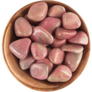 Shop Tumbled Rhodonite Crystals & Pocket Stones! 1 Rhodonite (canada) – Ethically Sourced Tumbled Stone | Natural genuine stones & crystals in various shapes & sizes. Buy raw cut, tumbled, or polished gemstones for making jewelry or crystal healing energy vibration raising reiki stones. #crystals #gemstones #crystalhealing #crystalsandgemstones #energyhealing #affiliate #ad