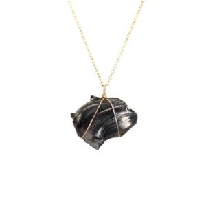 Shop Shungite Necklaces! Shungite necklace – mineral necklace – healing necklace – amulet necklace | Natural genuine Shungite necklaces. Buy crystal jewelry, handmade handcrafted artisan jewelry for women.  Unique handmade gift ideas. #jewelry #beadednecklaces #beadedjewelry #gift #shopping #handmadejewelry #fashion #style #product #necklaces #affiliate #ad