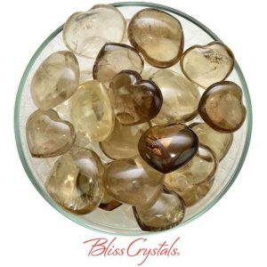Shop Smoky Quartz Shapes! 1 SMOKY QUARTZ Heart Mini Polished + Bag Healing Crystal and Stone #SH10 | Natural genuine stones & crystals in various shapes & sizes. Buy raw cut, tumbled, or polished gemstones for making jewelry or crystal healing energy vibration raising reiki stones. #crystals #gemstones #crystalhealing #crystalsandgemstones #energyhealing #affiliate #ad