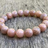 Chunky Natural Sunstone Bracelet 10mm Peach Brown Sunstone Beaded Bracelet Natural Brown Sunstone Bracelet Stack Bracelet Gift Bracelet   Natural genuine Gemstone jewelry. Buy crystal jewelry, handmade handcrafted artisan jewelry for women.  Unique handmade gift ideas. #jewelry #beadedjewelry #beadedjewelry #gift #shopping #handmadejewelry #fashion #style #product #jewelry #affiliate #ad