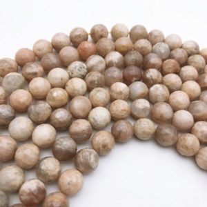 Shop Sunstone Faceted Beads! 10mm Natural Faceted Sunstone Beads, Gemstone Beads, Wholesale Beads | Natural genuine faceted Sunstone beads for beading and jewelry making.  #jewelry #beads #beadedjewelry #diyjewelry #jewelrymaking #beadstore #beading #affiliate #ad