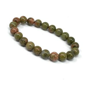 Shop Unakite Bracelets! Unakite 8mm Round Bead Bracelet   Stretch Bracelet   String Bracelet   Natural Crystal | Natural genuine Unakite bracelets. Buy crystal jewelry, handmade handcrafted artisan jewelry for women.  Unique handmade gift ideas. #jewelry #beadedbracelets #beadedjewelry #gift #shopping #handmadejewelry #fashion #style #product #bracelets #affiliate #ad