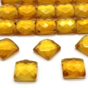 Shop Citrine Stones & Crystals! 12x12mm Square Citrine,Citrine cabochon,faceted Citrine,faceted gemstone,square cabochons,gemstone cabochons – AA Quality – 1 Stone | Natural genuine stones & crystals in various shapes & sizes. Buy raw cut, tumbled, or polished gemstones for making jewelry or crystal healing energy vibration raising reiki stones. #crystals #gemstones #crystalhealing #crystalsandgemstones #energyhealing #affiliate #ad