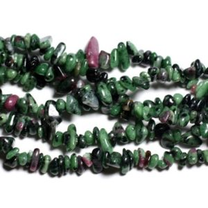 Shop Ruby Zoisite Chip & Nugget Beads! 40pc – stone Ruby Zoisite Chips 5-10mm 4558550036216 seed beads | Natural genuine chip Ruby Zoisite beads for beading and jewelry making.  #jewelry #beads #beadedjewelry #diyjewelry #jewelrymaking #beadstore #beading #affiliate #ad