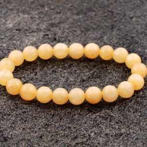 Shop Calcite Bracelets! 8mm Yellow Calcite Bracelet, Calcite Bracelets 8 mm, Yellow Calcite Bracelets, Calcite Bead Bracelets, Yellow Calcite Stretch bracelet | Natural genuine Calcite bracelets. Buy crystal jewelry, handmade handcrafted artisan jewelry for women.  Unique handmade gift ideas. #jewelry #beadedbracelets #beadedjewelry #gift #shopping #handmadejewelry #fashion #style #product #bracelets #affiliate #ad