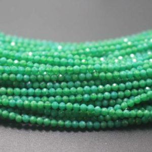 Shop Agate Faceted Beads! Faceted Green Agate Beads,2mm Agate Faceted beads bulk supply,Small size beads,15 inches one starand   Natural genuine faceted Agate beads for beading and jewelry making.  #jewelry #beads #beadedjewelry #diyjewelry #jewelrymaking #beadstore #beading #affiliate #ad