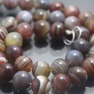 Shop Agate Beads! Natural Botswana Agate Beads,4mm/6mm/8mm/10mm/12mm Natural Madagasar Agate Beads,Striped agate Beads,15 inches one starand | Natural genuine beads Agate beads for beading and jewelry making.  #jewelry #beads #beadedjewelry #diyjewelry #jewelrymaking #beadstore #beading #affiliate #ad